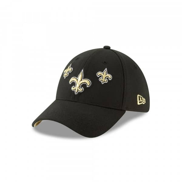New Orleans Saints 2019 NFL Draft On-Stage 39THIRTY Stretch Fit Cap