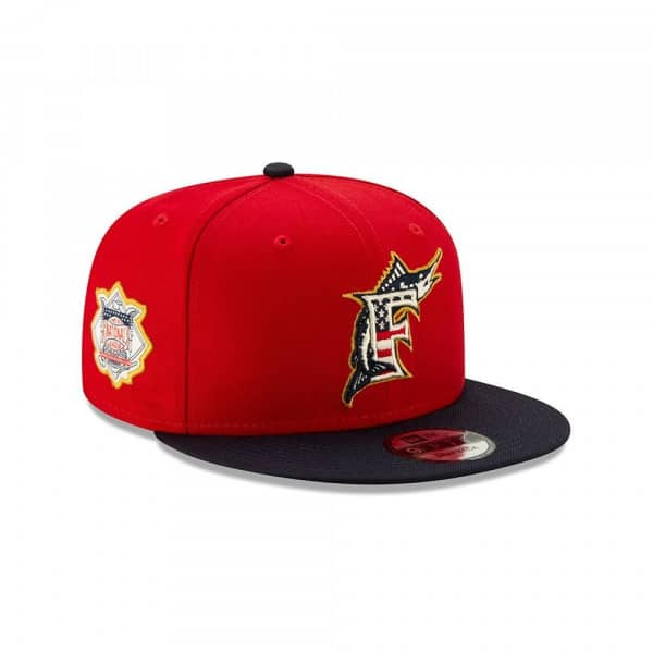 Miami Marlins 4th of July 2019 MLB 9FIFTY Snapback Cap