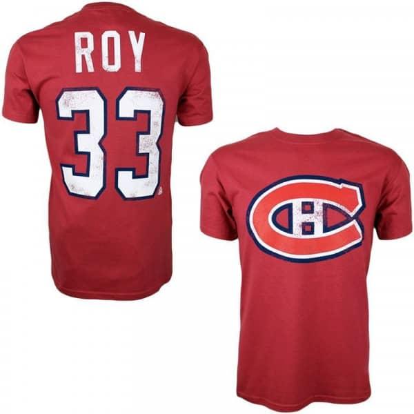 Montreal Canadiens Patrick Roy #33 Alumni Eishockey NHL T-Shirt