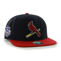 St. Louis Cardinals Two-Tone Sure Shot '47 Captain Snapback MLB Cap Navy