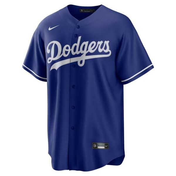 Los Angeles Dodgers 2020 Nike MLB Replica Alternate Trikot Blau