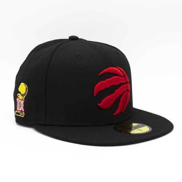 Toronto Raptors 2019 NBA Finals Champs 59FIFTY Fitted Cap Schwarz