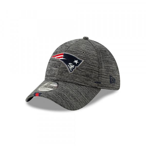 New England Patriots 2019 NFL Training 39THIRTY Flex Cap Grau