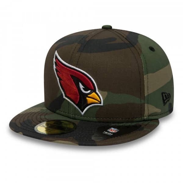 Arizona Cardinals Woodland Camo 59FIFTY Fitted NFL Cap