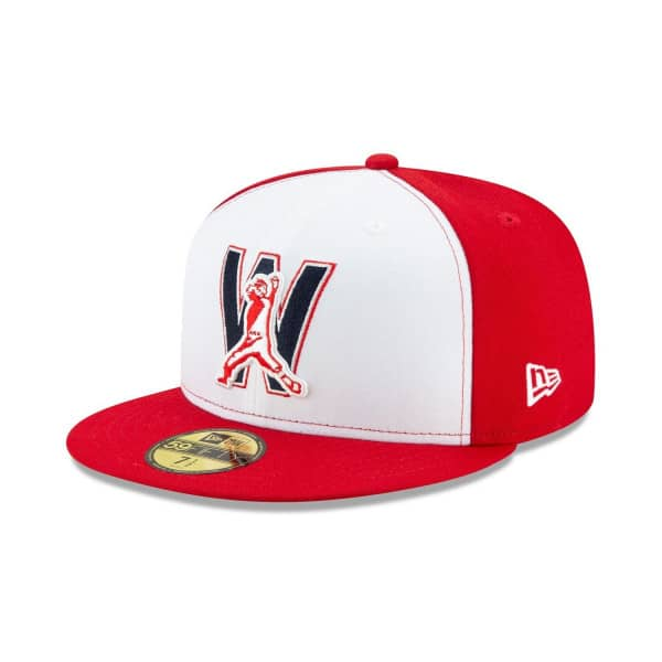 Washington Nationals Authentic New Era 59FIFTY Fitted MLB Cap Alternate 4