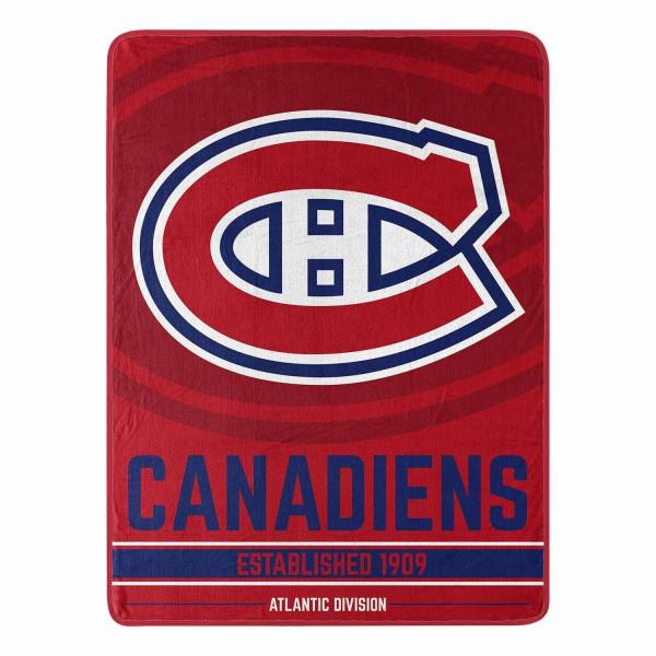 Montreal Canadiens Breakaway Northwest Super Plush NHL Decke