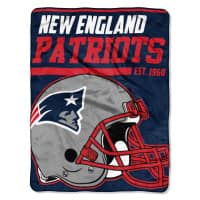 New England Patriots Super Plush NFL Decke