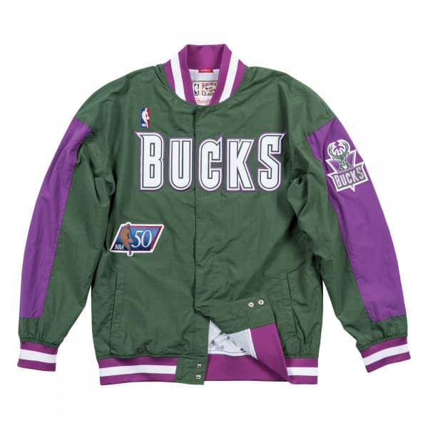 Milwaukee Bucks 1996-97 Authentic Warm Up Mitchell & Ness NBA Jacke