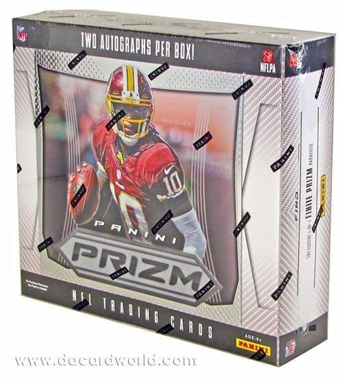2012 Panini Prizm Football Hobby Box NFL