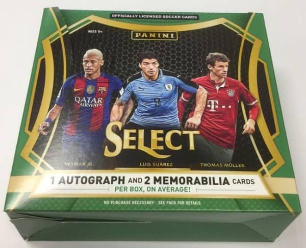 2016/17 Panini Select Soccer Hobby Box