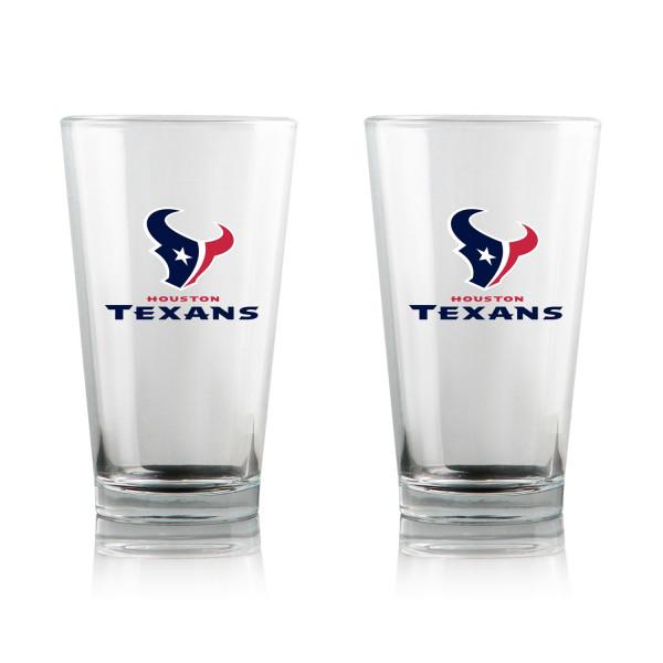 Houston Texans Highball NFL Pint Glas Set (2 Stk.)