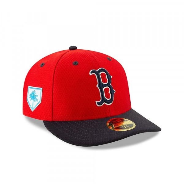 discount f462b 2f6a2 New Era Boston Red Sox 2019 Spring Training Low Profile 59FIFTY MLB Cap    TAASS.com Fan Shop
