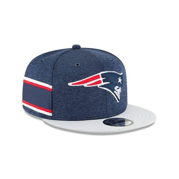 1e6c8ce6e412 New Era New England Patriots 2018 NFL Sideline 9FIFTY Snapback Cap ...