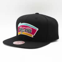 San Antonio Spurs Wool Solid Mitchell & Ness Original Fit Snapback NBA Cap
