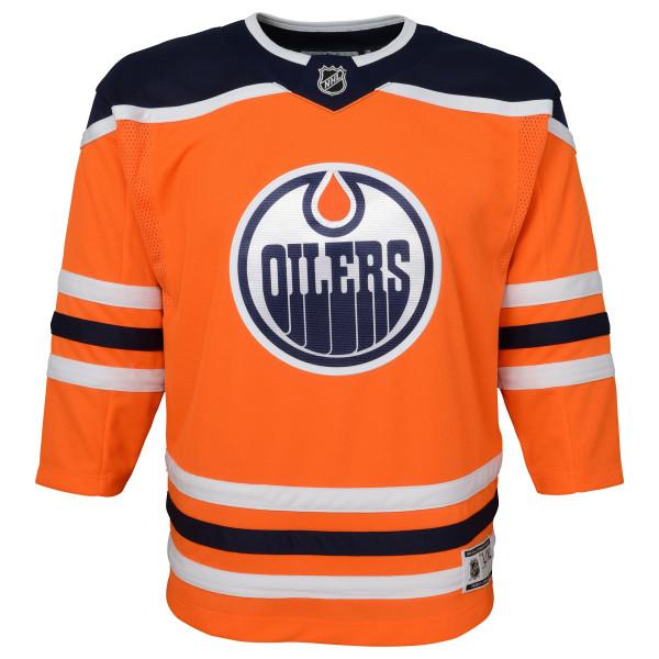 Edmonton Oilers Premier Youth NHL Trikot Home (KINDER)