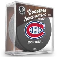 Montreal Canadiens NHL Eishockey Puck Untersetzer (4er Set)