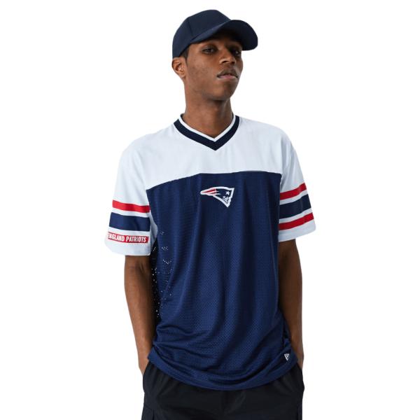 New England Patriots New Era Jacquard Oversized Mesh NFL Fantrikot
