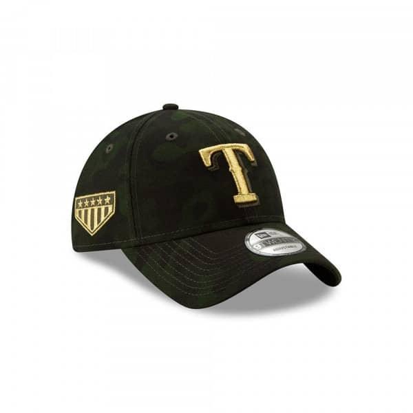 buy online 0abb0 7d62a New Era Texas Rangers 2019 Armed Forces Day 9TWENTY Adjustable MLB Cap    TAASS.com Fan Shop