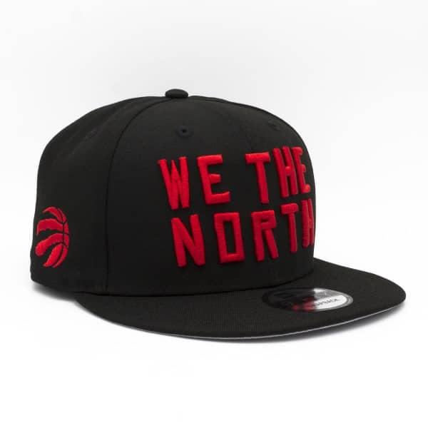 Toronto Raptors WE THE NORTH 9FIFTY Snapback Cap Schwarz