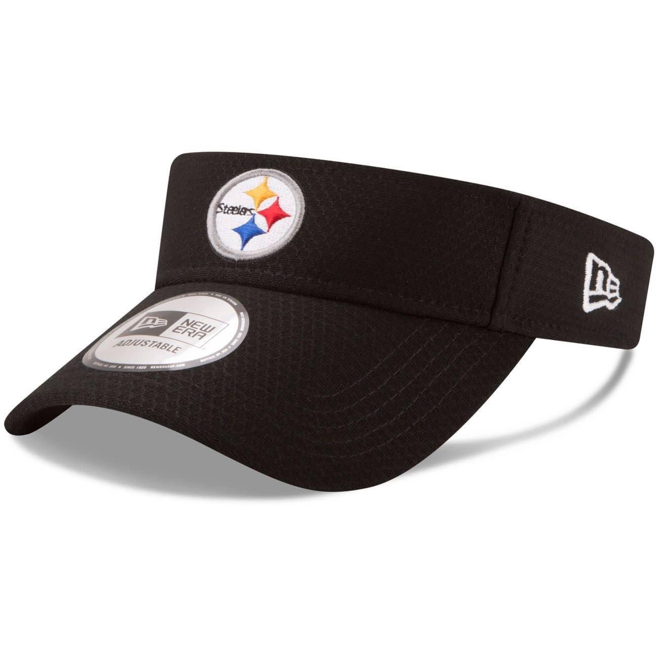 the latest 816e7 27004 New Era Pittsburgh Steelers 2017 NFL Training Visor   TAASS.com Fan Shop