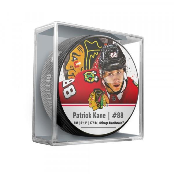 Patrick Kane Chicago Blackhawks Star Player NHL Puck