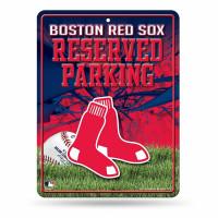 Boston Red Sox Reserved Parking MLB Metallschild