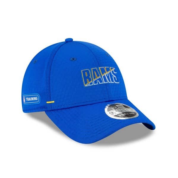Los Angeles Rams 2020 Summer Sideline New Era Stretch-Snap 9FORTY NFL Cap