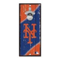 New York Mets MLB Schild mit Flaschenöffner