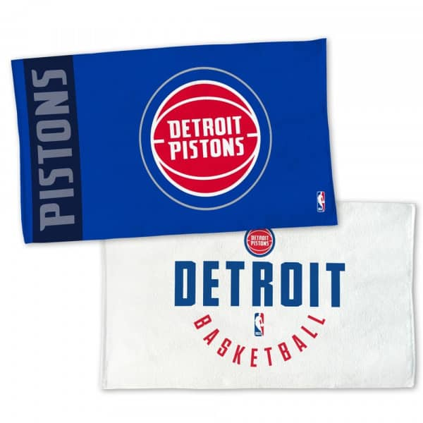 wholesale dealer f17e9 8d4e5 Detroit Pistons NBA On-Court Bench Handtuch