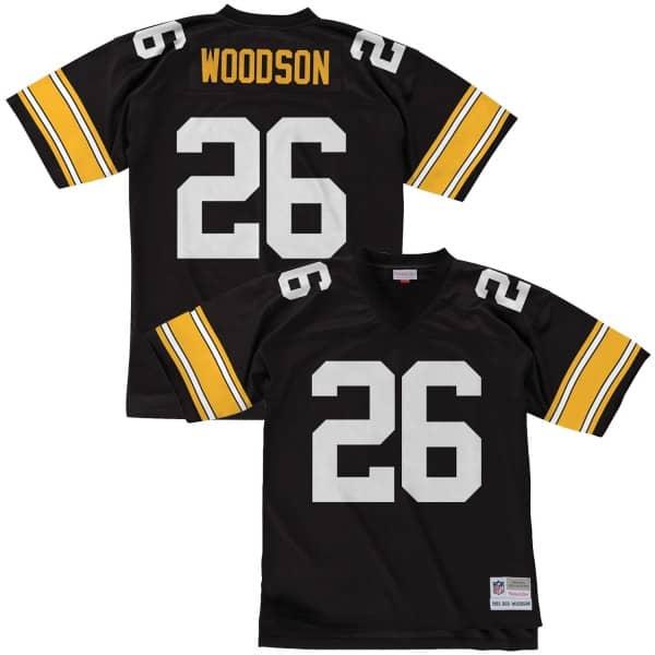 Rod Woodson #26 Pittsburgh Steelers Legacy Throwback NFL Trikot