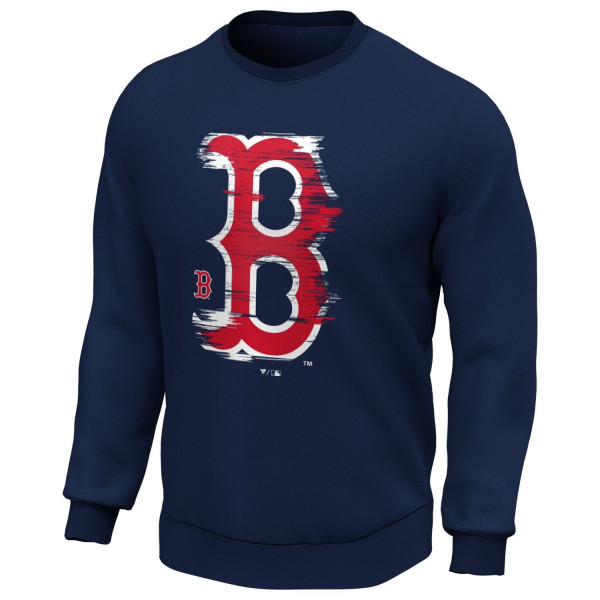 Boston Red Sox 2020 Doorbusters Worn Fanatics Core MLB Crewneck Pullover