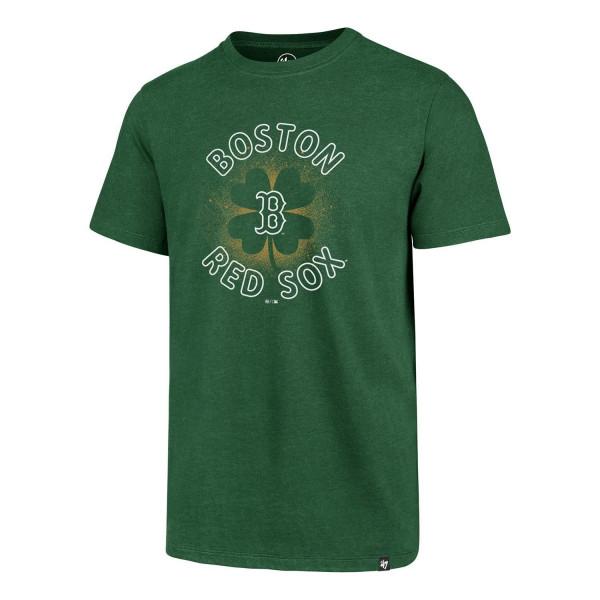 Boston Red Sox St. Patrick's Day Clover MLB T-Shirt