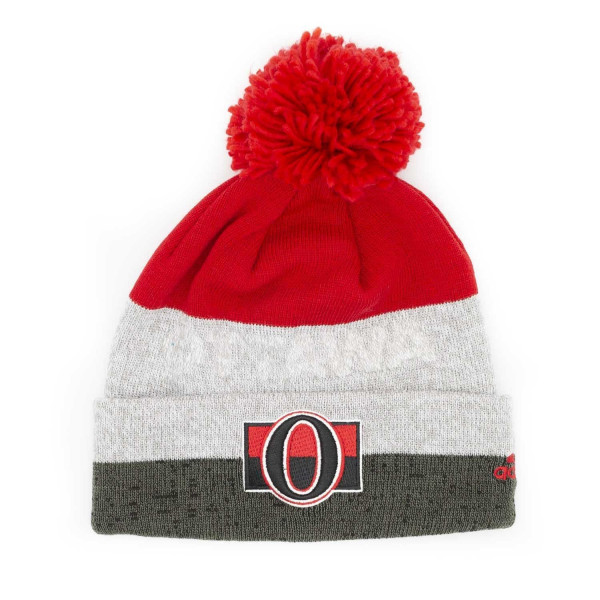 b434d3adc adidas Ottawa Senators Juliet Cuffed Beanie NHL Knit Hat | TAASS.com Fan  Shop