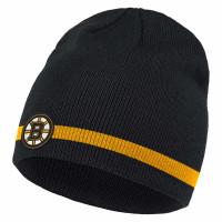 Boston Bruins 2020/21 adidas NHL Coach Beanie Wintermütze