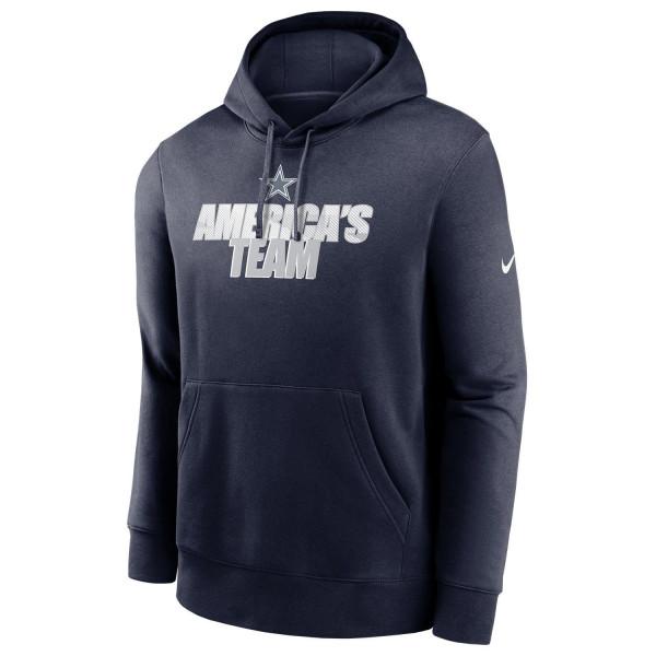 Dallas Cowboys NFL Local Nike Club Fleece Hoodie