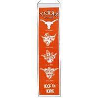 Texas Longhorns NCAA Heritage Banner