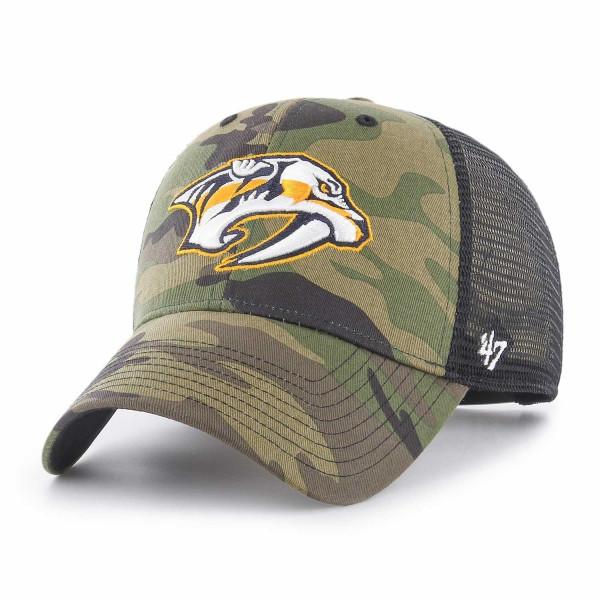 Nashville Predators Camo NHL Trucker Cap