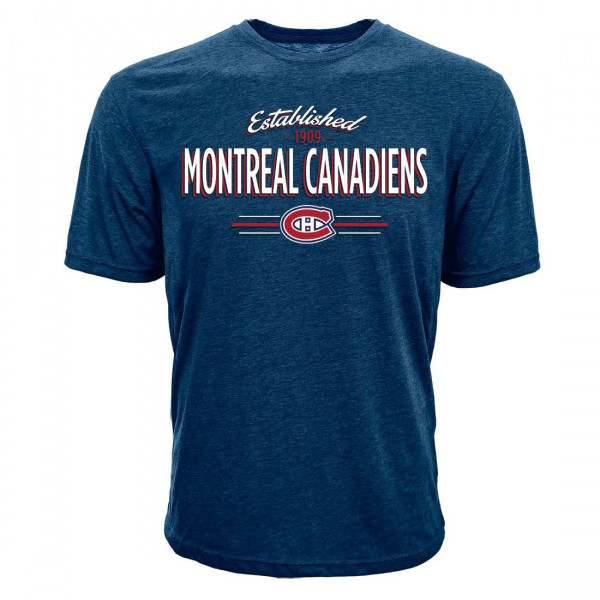 Montreal Canadiens Established Crowned NHL T-Shirt
