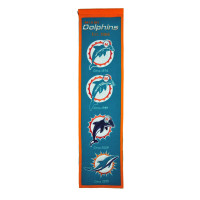 Miami Dolphins NFL Premium Heritage Banner