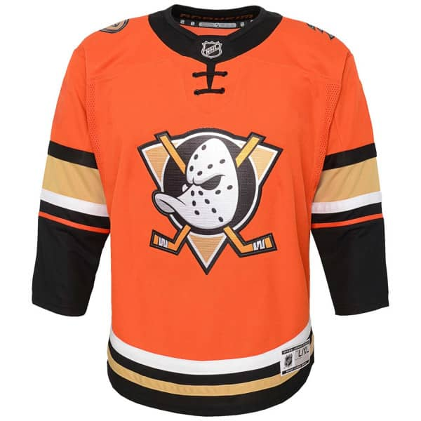 Anaheim Ducks Premier Youth NHL Trikot Third (KINDER)