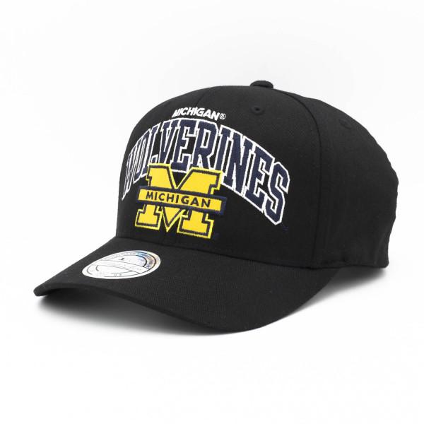 Michigan Wolverines Team Arch 110 FlexFit Snapback NCAA Cap