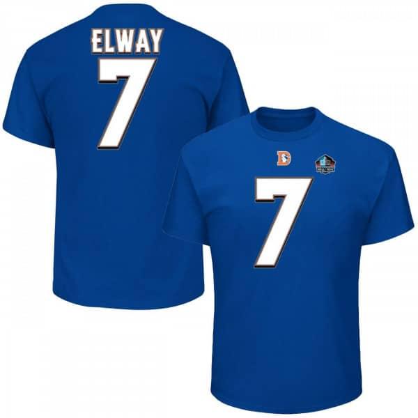 John Elway #7 Denver Broncos HOF NFL T-Shirt
