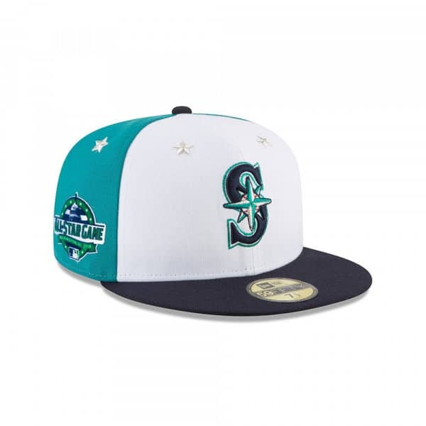 Seattle Mariners 2018 All Star Game 59FIFTY Fitted MLB Cap