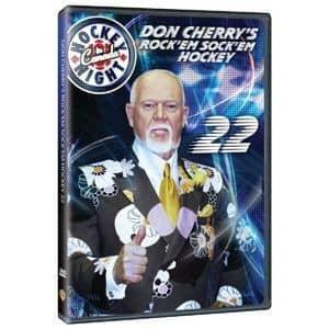Don Cherry #22 NHL DVD Rock'em Sock'em Hockey