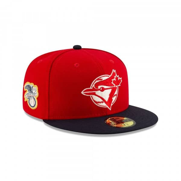 Toronto Blue Jays Canada Day 2019 59FIFTY Fitted MLB Cap