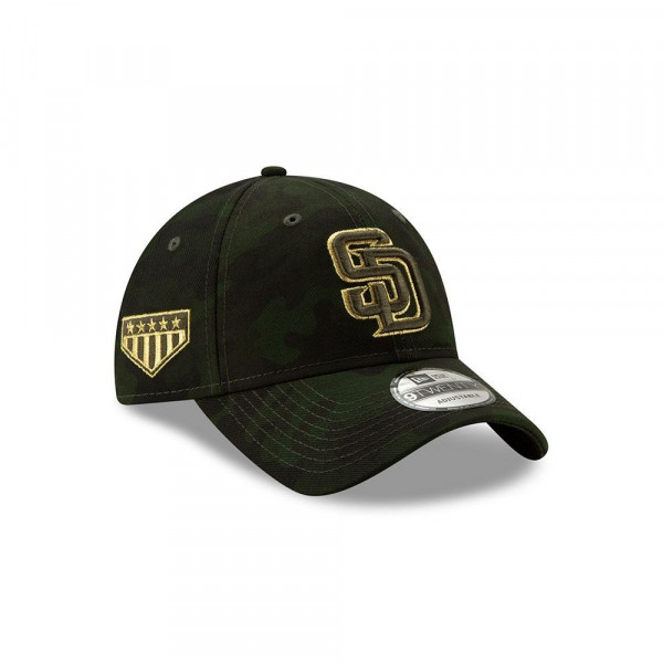 new product 0d4a8 04ed8 New Era San Diego Padres 2019 Armed Forces Day 9TWENTY Adjustable MLB Cap    TAASS.com Fan Shop