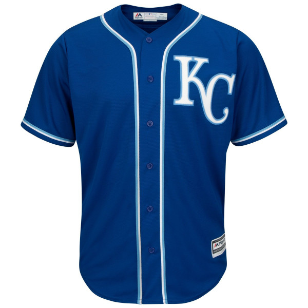 Kansas City Royals Cool Base MLB Trikot Alternate Blau
