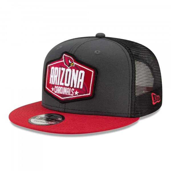 Arizona Cardinals Official 2021 NFL Draft New Era 9FIFTY Snapback Cap