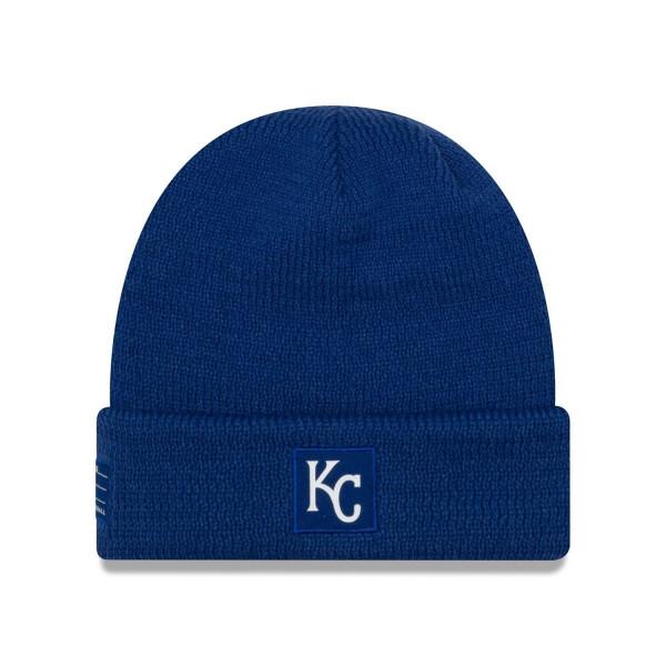 Kansas City Royals 2018 On-Field Sport Knit MLB Wintermütze