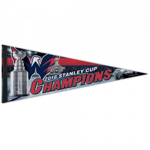 Washington Capitals 2018 Stanley Cup Champions NHL Wimpel